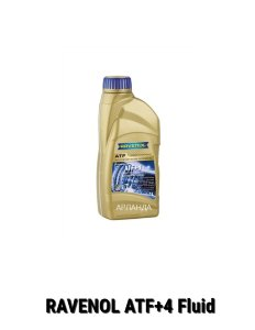 RAVENOL ATF+4 Fluid акпп Chrysler, Jeep, Dodge, Plymouth (1 л)